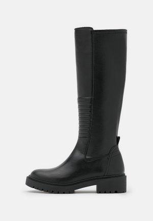 GALILA - Vysoká obuv - black