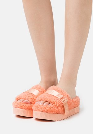FLUFFITA - Heeled mules - beverly pink