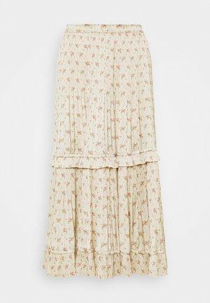 JCLYN SKIRT - A-line skirt - beige