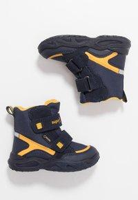 Superfit - GLACIER - Winter boots - blau/gelb - 0