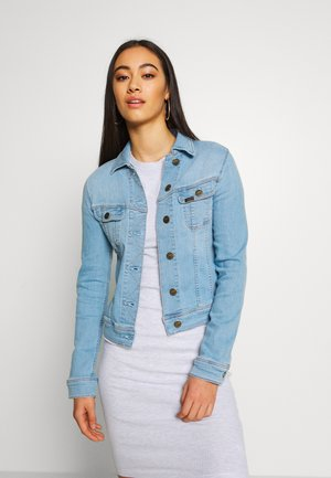 SLIM RIDER - Denim jacket - light coroval