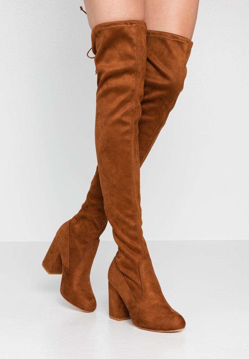 Even&Odd - High heeled boots - cognac