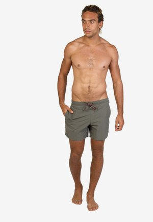 FAST - Swimming shorts - grey green