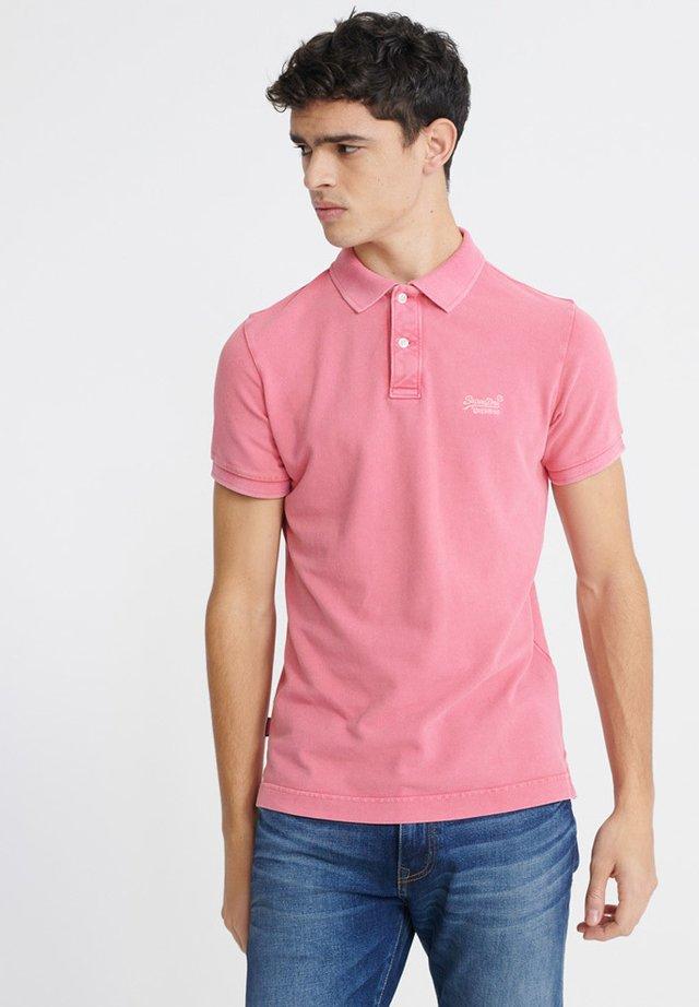 Poloshirt - maldive pink