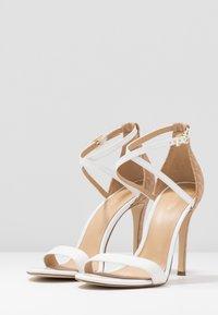 MICHAEL Michael Kors - ANTONIA - High heeled sandals - optic white/multicolor - 4