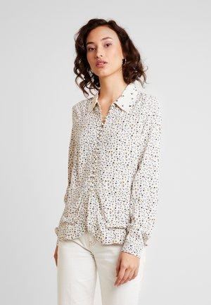 VMVIVI - Button-down blouse - birch