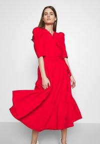 Hofmann Copenhagen - CIARA - Koktejlové šaty/ šaty na párty - fiery red - 3