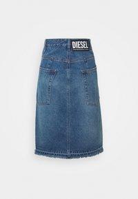 Diesel - DE-PAU-SP SKIRT - Pencil skirt - indigo - 1