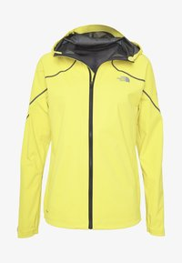 FLIGHT FUTURELIGHT JACKET - Hardshell jacket - lemon