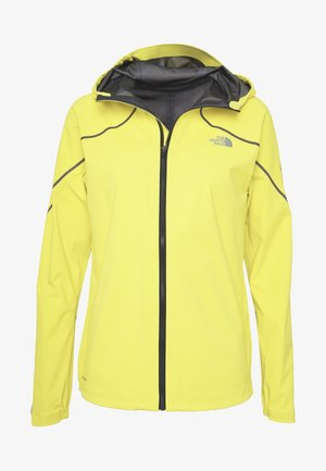 FLIGHT FUTURELIGHT JACKET - Hardshell jacket - lemon