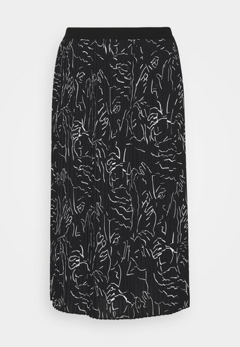 RISHA - A-line skirt - black
