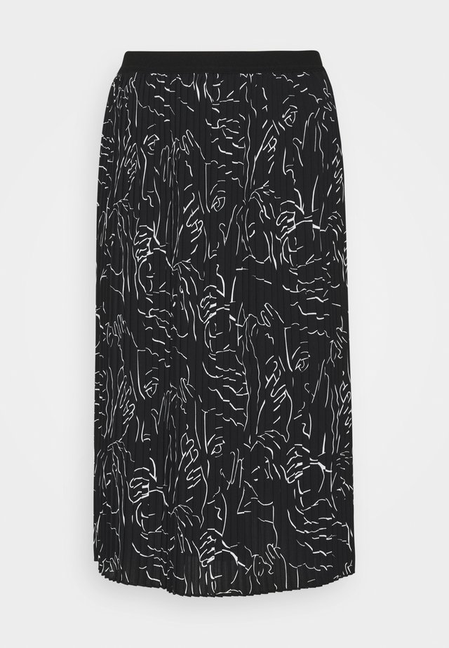RISHA - A-line skirt - black