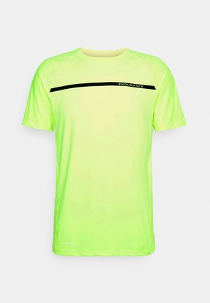 SERZO TEE - T-shirts med print - safety yellow