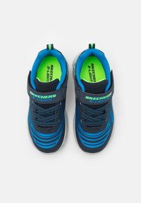 Skechers - MAGNA LIGHTS BOZLER - Trainers - navy/blue/lime - 3