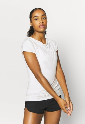 WASSERFALL - T-shirt basic - soft white