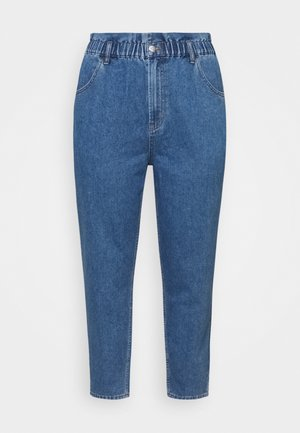 CAROVE LIFE CARROT - Relaxed fit jeans - medium blue denim
