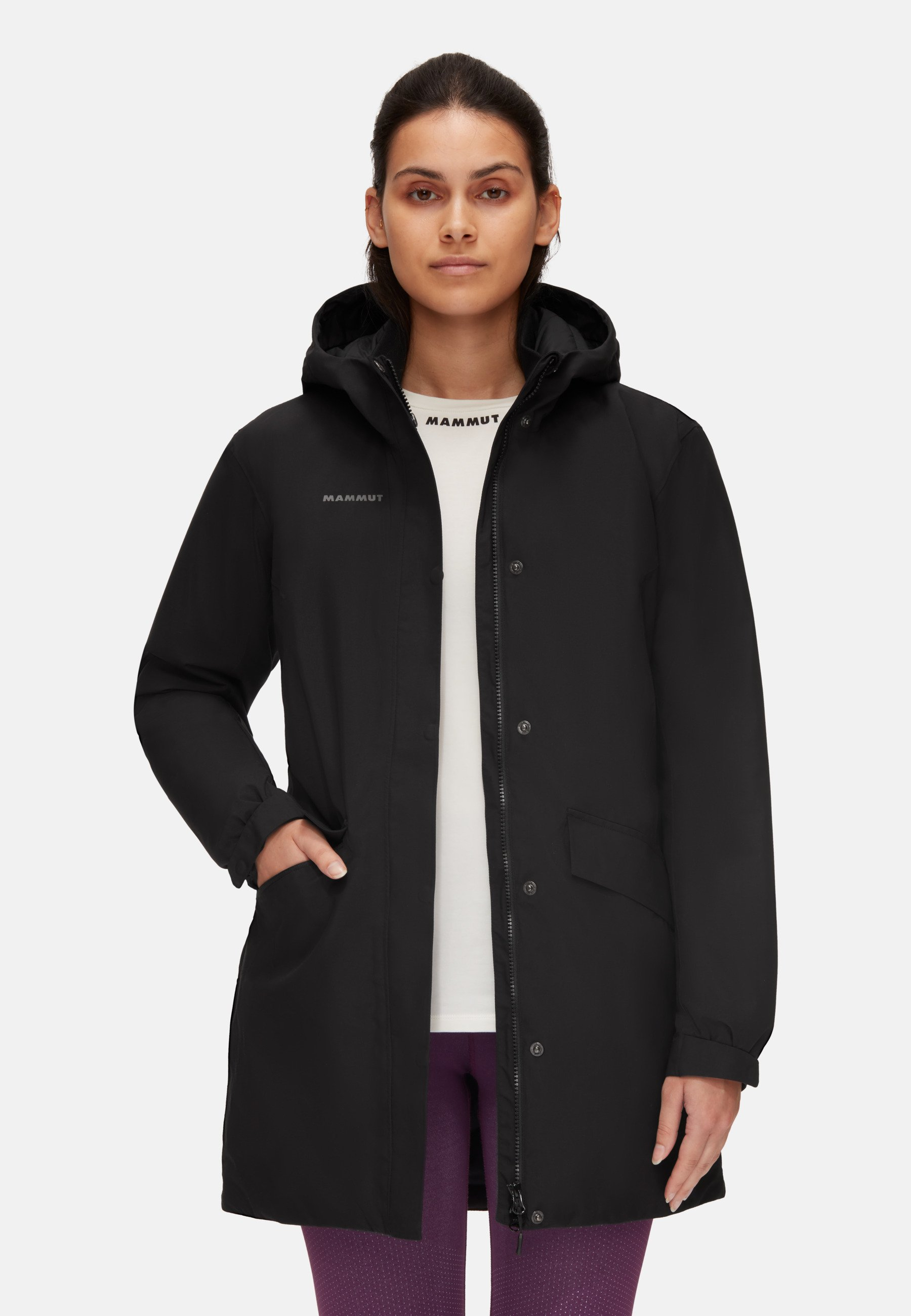 Damen CHAMUERA THERMO HOODED - Parka