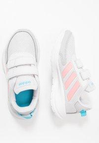 adidas Performance - TENSAUR RUN UNISEX - Neutral running shoes - dash grey/glow pink/bright cyan - 0