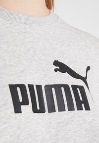 Puma - LOGO CREW - Sweatshirt - light gray heather - 5