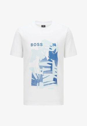 TIBURT  - Print T-shirt - white