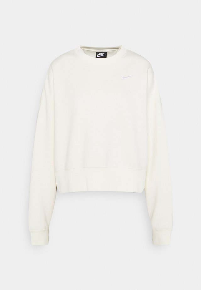 CREW TREND - Sweatshirt - coconut milk/white