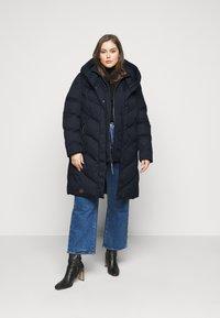 Ragwear Plus - NATALKA PLUS - Zimní kabát - navy - 1