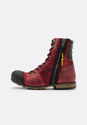 INDUSTRIAL - Veterboots - red/brick