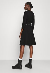 Calvin Klein - MILANO DRESS - Žerzejové šaty - black - 2