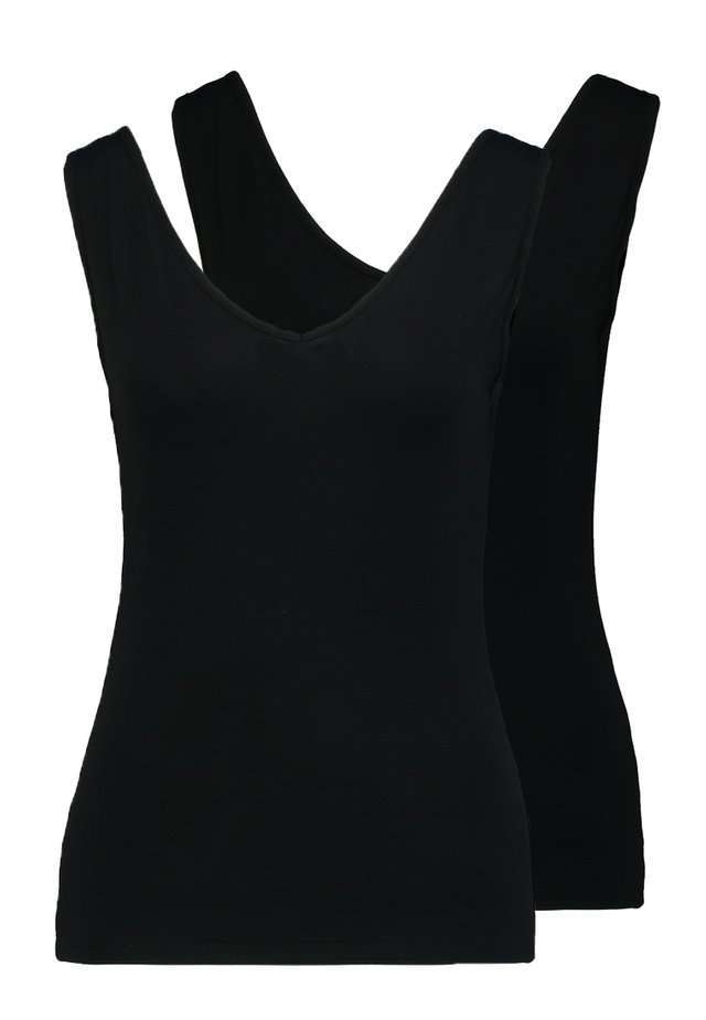 2 PACK - Top - black
