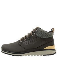 Salomon - UTILITY FREEZE CS WP - Winter boots - peat/mineral gray/taos taupe - 1