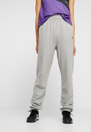 HERITAGE PANT - Tracksuit bottoms - grey heather/white
