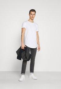 TOM TAILOR DENIM - 7 PACK  - T-shirt - bas - black - 0