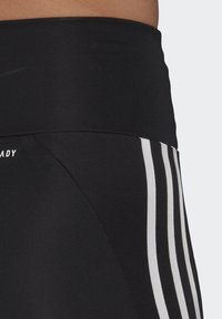 adidas Performance - DESIGNED TO MOVE HIGH-RISE SHORT SPORT TIGHTS - Medias - black/white - 3