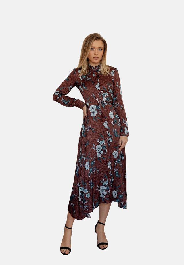 LOIS  - Shirt dress - brown