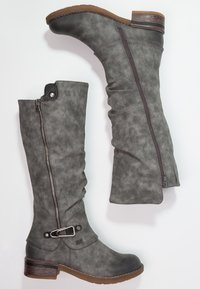 Rieker - Winter boots - smoke/nero - 1