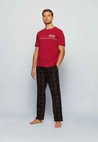 BOSS - Pyjama top - dark red - 1