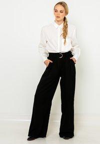 Camaieu - Pantalon classique - noir - 1