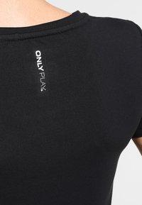 ONLY Play - ONPCLARISSA TRAINING TEE - Camiseta básica - black - 4