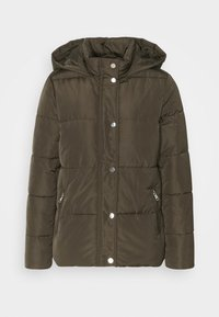 Dorothy Perkins Petite - HOODED PADDED  - Winter jacket - khaki - 4