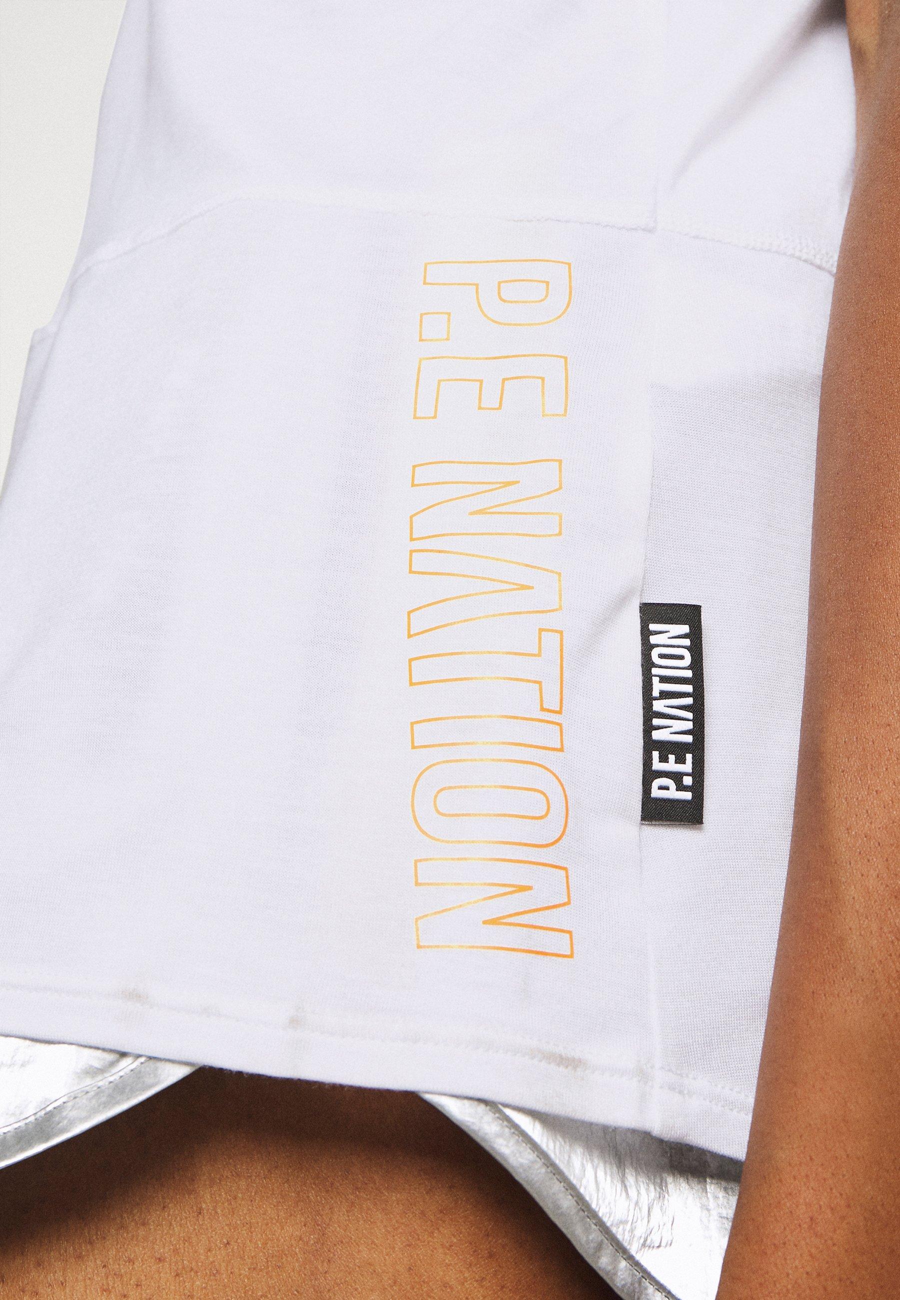 P.E Nation ZONE IN TANK - Top - white bsYhi
