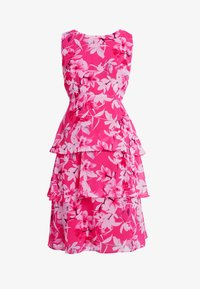 Wallis Petite - ORCHID TRIPLE TIERED DRESS - Cocktail dress / Party dress - pink - 4