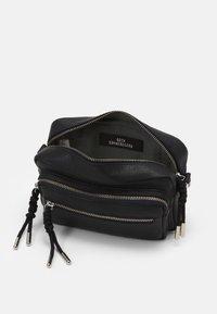 Becksöndergaard - SHEEN MALLY BAG - Across body bag - black - 2