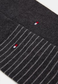 Tommy Hilfiger - MEN SMALL STRIPE SOCK 2 PACK - Chaussettes - anthracite - 1