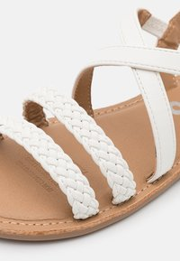 Cotton On - STRAPPY BRAID - Sandals - white - 5