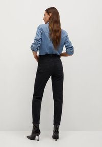 Mango - NEWMOM - Slim fit jeans - black denim - 2