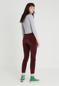 New Look - Trousers - burgundy - 2