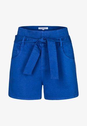 Shorts - bleached denim