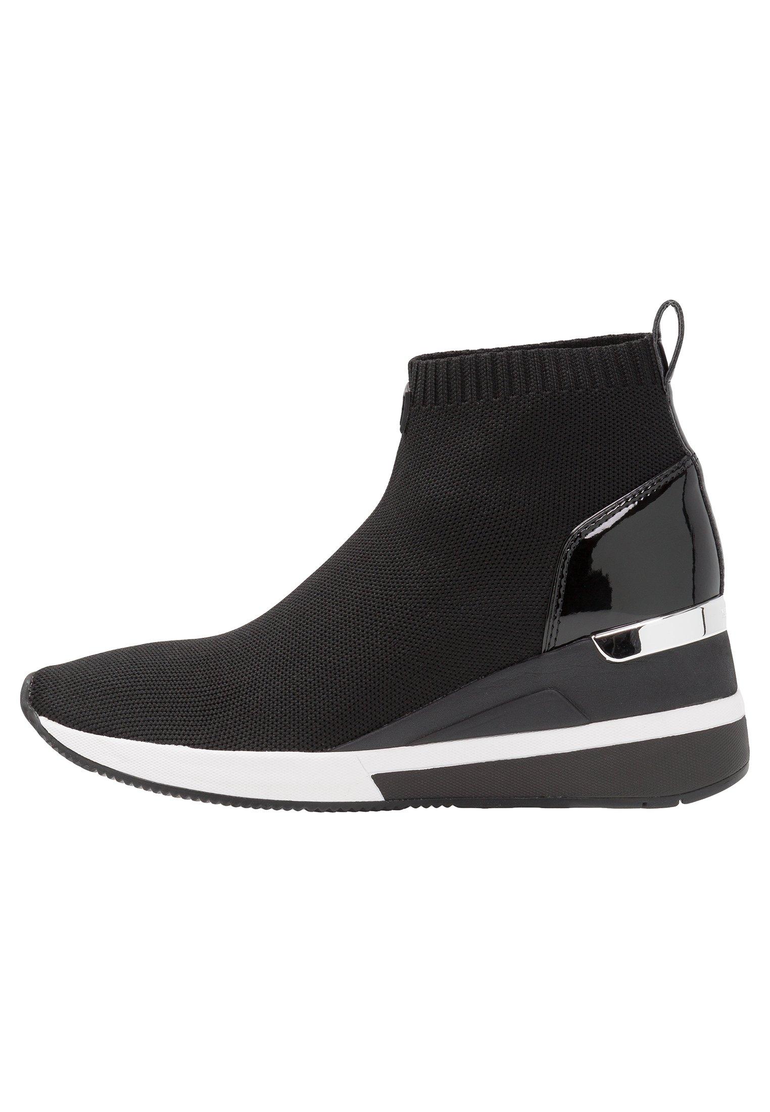 SKYLER Höga sneakers black
