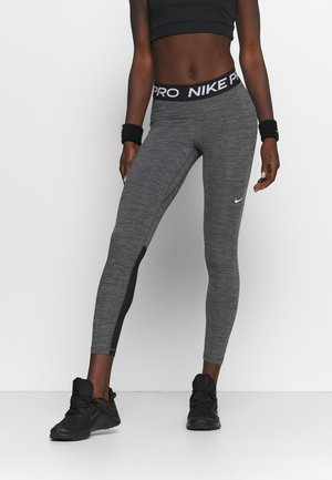 Leggings - black/heather/white