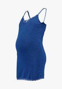 Esprit Maternity - SPAGHETTI NURSING - Top - bright blue - 3